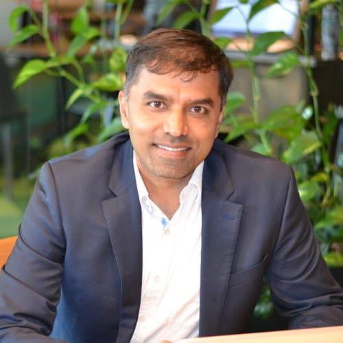 Image of Mr. Chandrakumar Sivasubramaniam,  Co-founder & CEO of HRAPP